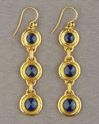 Gurhan | Metallic Blue Sapphire Earrings | Lyst