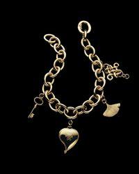 H Stern | Metallic Dvf Charm Bracelet | Lyst