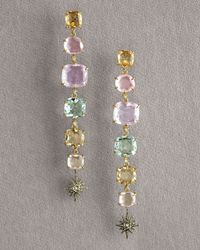 H Stern | Multicolor Moonlight Dangle Earrings | Lyst