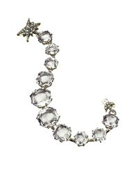 H Stern - Metallic Moonlight Rock Crystal Bracelet - Lyst