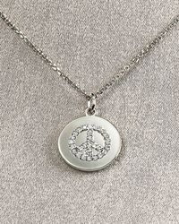 KC Designs | Metallic Peace Disc Necklace | Lyst