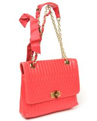 Lanvin - Pink Medium 'happy' Shoulder Bag - Lyst