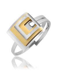Makuti   Metallic Stainless Steel Bar Pendant Necklace for Men   Lyst