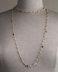 Marco Bicego - Metallic Paradise Necklace, 47 1/4 - Lyst