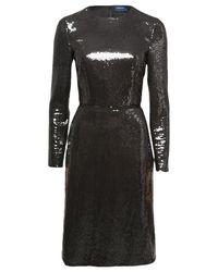 Peter Som | Metallic Sequin Dress | Lyst