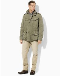 Polo Ralph Lauren - Green British Combat Jacket for Men - Lyst
