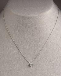 Roberto Coin - Metallic Baby Cross Necklace - Lyst