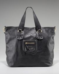 See By Chloé Black Hilo Double Function Tote