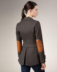 Smythe - Green Leather-patch Hunting Jacket - Lyst
