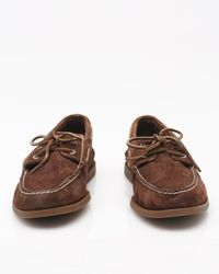 Sperry Top-Sider - Brown 2 Eye Suede for Men - Lyst