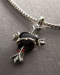Stephen Webster Metallic Bleeding Heart Necklace for men