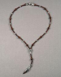 Stephen Webster - Metallic Rosary Necklace for Men - Lyst
