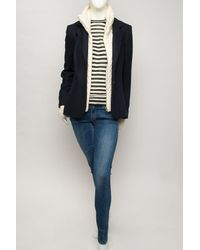 Veronica Beard - Blue The Jacket with Upstate Dickey - Lyst