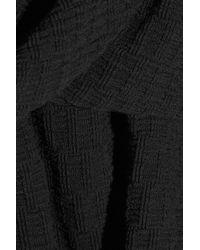 Acne Studios Black Muse Textured Stretch-cotton Skirt