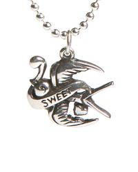 Femme Metale Jewelry | Metallic Sweet Swallow Pendant | Lyst
