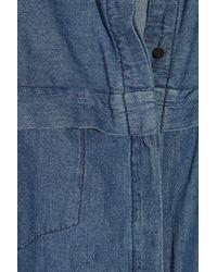 Lover Blue Denim Shirt Dress