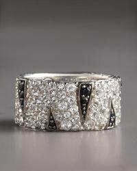 John Hardy Metallic Macan Lava Band Ring for men
