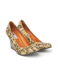 Lanvin - Multicolor Leopard-print Ballet Wedge - Lyst
