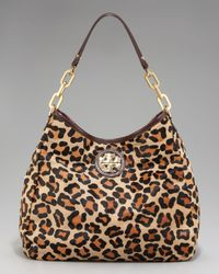 Tory Burch | Multicolor Calf Hair City Hobo | Lyst
