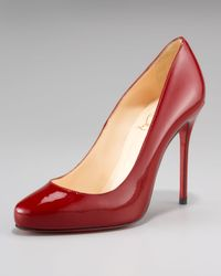Christian Louboutin Natural Elisa Patent Pump
