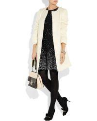 Issa - Black Splash Intarsia Knitted Jersey Dress - Lyst