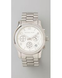 Michael Kors | Metallic Jet Set Sport Watch | Lyst