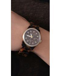 Michael Kors | Brown Tortoise Jet Set Watch | Lyst