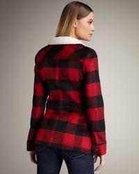 Torn | Red Taylor Lumberjack Jacket | Lyst