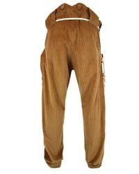 A Child Of The Jago | Napper Brown Corduroy Trousers for Men | Lyst