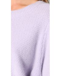 Acne Studios - Purple Cunard Sweater - Crystal - Lyst