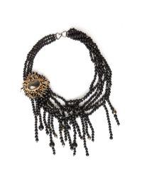 Alexis Bittar | Black Baroque Pearl Necklace | Lyst