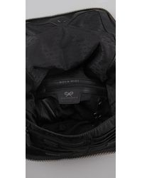 Anya Hindmarch Black Maxi Zip Backpack