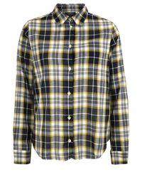 A.P.C. | Yellow Arrondi Jaune Dor Shirt | Lyst
