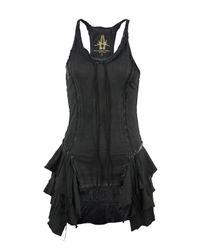 Bolongaro Trevor | Gray Vera Frill Dark Grey Vest | Lyst