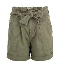 Denim & Supply Ralph Lauren | Green Olive Paper Bag Shorts | Lyst