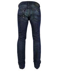 DIESEL | Blue Thavar Slim Skinny Denim Jeans for Men | Lyst