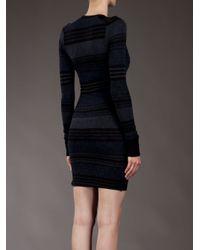 Étoile Isabel Marant | Blue Stripe Body-con Dress | Lyst