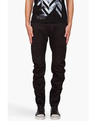 G-Star RAW | Black Omega Arc Loose Tapered Cargos for Men | Lyst