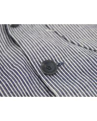 Heritage Research | Gray Hickory Stripe Artillery Jacket for Men | Lyst