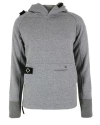 Ma.strum | Gray Moscow Hooded Grey Sweat for Men | Lyst