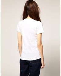American Apparel | White T Shirt | Lyst
