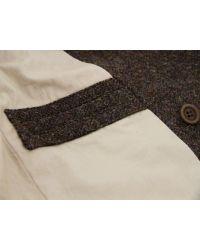 Nigel Cabourn   Brown Harris Tweed Jacket for Men   Lyst