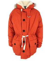 Nigel Cabourn | Orange Everest Parka Jacket for Men | Lyst