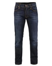 Nudie Jeans | Blue Average Joe Eco Wash Jeans for Men | Lyst