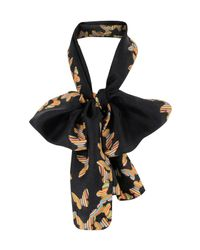 Paul Smith | 623a-s28 Black Butterfly Print Scarf | Lyst