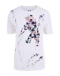 PRPS | Paint Cherub White T-shirt for Men | Lyst