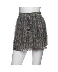SUNO - Multicolor Single Tier Skirt - Lyst
