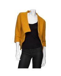 Thakoon Addition Yellow Cropped Jacket