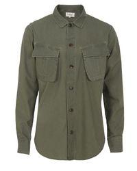YMC | Green P2ac6 Olive Nam Shirt for Men | Lyst