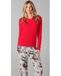 IRO | Red Sara Sweater | Lyst